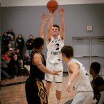 Boys Varsity Basketball beats Godwin Heights 47 – 45 in District Semi-final