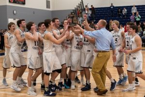 Varsity Boys Basketball vs. GR Prep – Photos