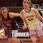Calvin's Gabby Timmer Named D3hoops.com Women's Basketball National Rookie of the Year