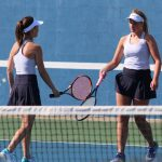 Girls Varsity Tennis finishes 2nd place at Cookie Invite