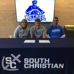 Bos signs with Bethel
