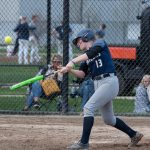 South Splits Double Header at Covenant