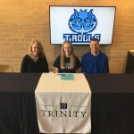 Keen signs with Trinity