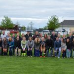 Seniors Leave Giant Footprint
