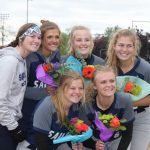 Seniors Are Honored and Team Shines