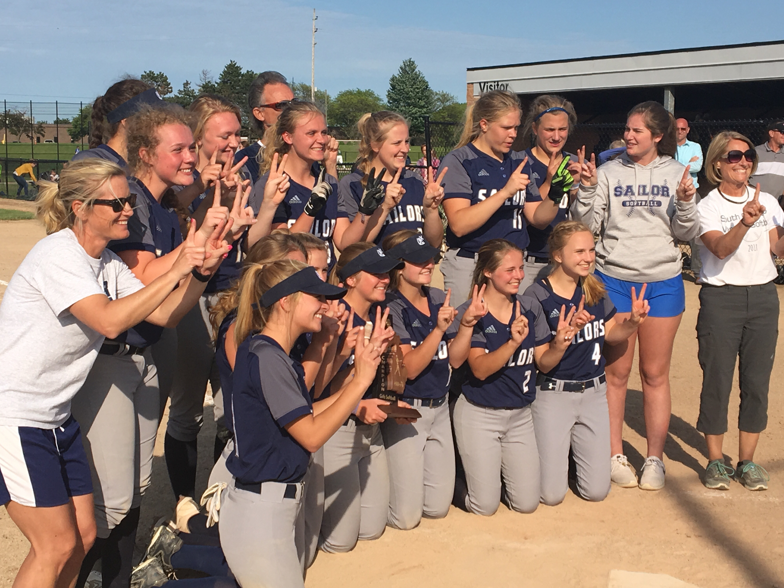 Twelve is the Magic Number for Sailor Softball