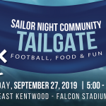 Sailor Night Community Tailgate – Football, Food and Fun presented by Cornerstone University
