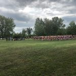 "Sailor Men Race to a Second Place Finish at the Coach ""B"" Cross Country Invitational"