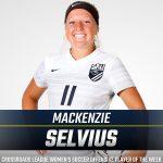 SELVIUS GARNERS CL WOMEN'S SOCCER PLAYER OF THE WEEK HONORS