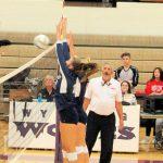 Girls Varsity Volleyball beats Wyoming 3 – 0