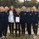 Varsity Girls Cross Country Team Finishes Runner-Up at Regionals