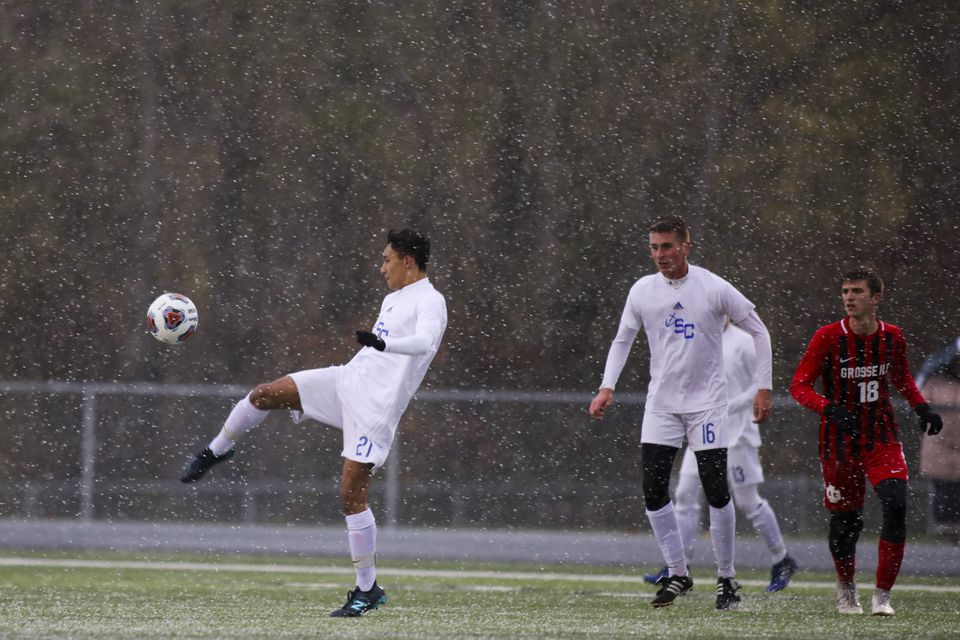 Boys Soccer finishes season in MHSAA State Finals