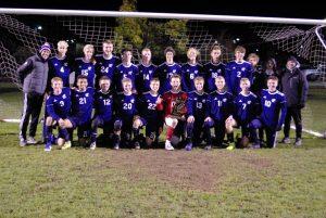 Sailors Varsity Soccer District Champions