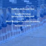 Varsity Girls Volleyball vs Aviation Academy - Nov 4, 2019