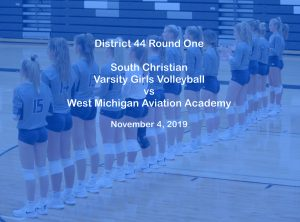 Varsity Girls Volleyball vs Aviation Academy – Nov 4, 2019