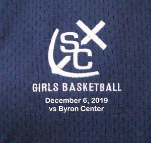 Varsity Girls Basketball vs Byron Center – Dec 6, 2019