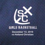 Varsity Girls Basketball vs Holland Christian - Dec 13, 2019