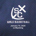 Varsity Girls Basketball vs Wyoming - January 10, 2020