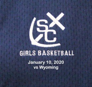 Varsity Girls Basketball vs Wyoming – January 10, 2020