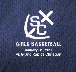 Varsity Girls Basketball vs Grand Rapids Christian – January 31, 2020