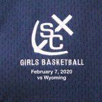 Varsity Girls Basketball vs Wyoming - February 7, 2020