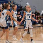 Girls Varsity Basketball falls to East Grand Rapids 61 – 49