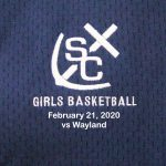 Varsity Girls Basketball vs Wayland - February 21, 2020