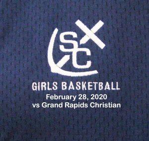 Varsity Girls Basketball vs GR Christian – February 28, 2020