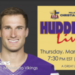 Huddle Up Live with Kirk Cousins