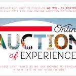 Online Auction Postponed