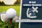 Varsity Girls Golf Wins OK Gold Jamboree