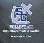 District QuarterFinals vs Hopkins, November 2, 2020