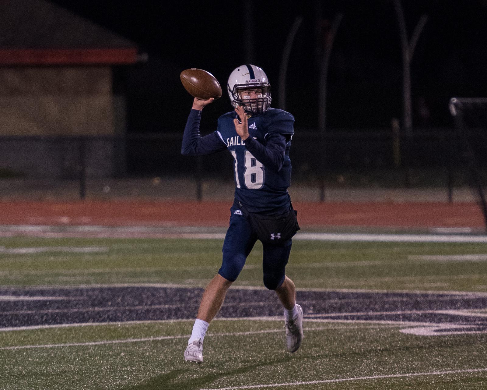 Jake DeHaan Breaks School Record With 7 TD Passes