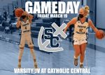 Girls Basketball Closes Regular Season Tonight At Catholic Central