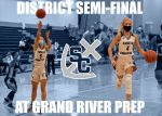 Girls Basketball Ready For District Semifinal Tonight