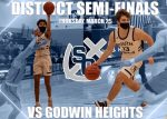 Boys Varsity Basketball Takes On Godwin Heights Tonight In District Semifinal