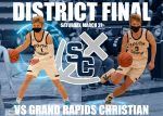 Boys Basketball Takes On Grand Rapids Christian For District Title
