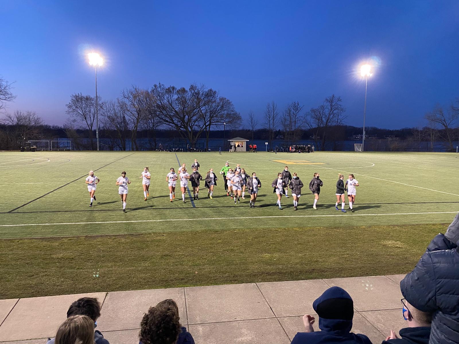 Girls Varsity soccer vs EGR