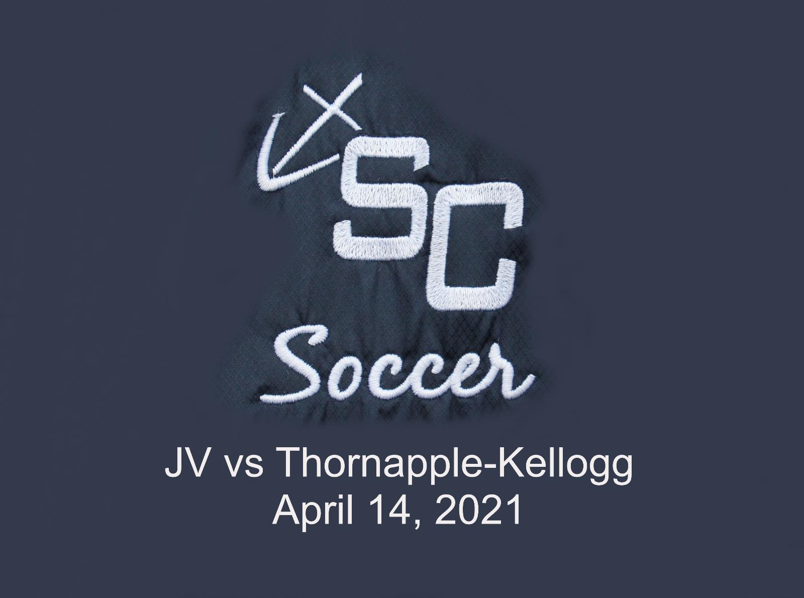 JV Girls Soccer vs Thornapple-Kellogg – April 14, 2021