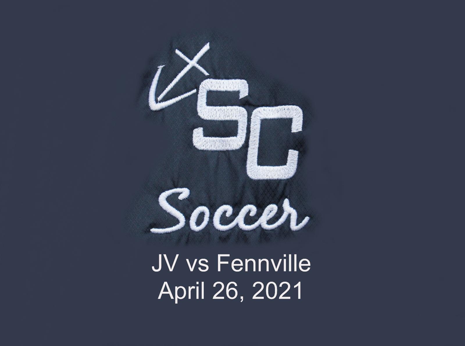 JV Girls Soccer vs Fennville – April 26, 2021