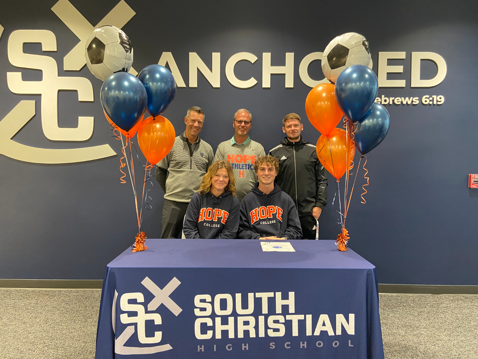 Thom DeVries Signs To Play Soccer At Hope