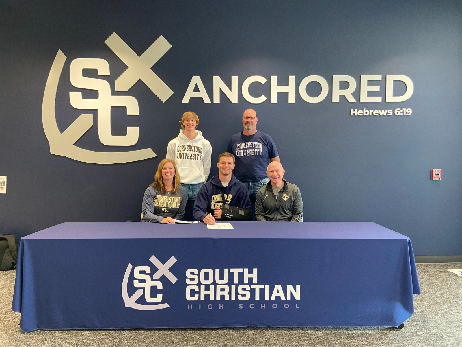 Connor Dykema Signs To Play Basketball At Cornerstone University