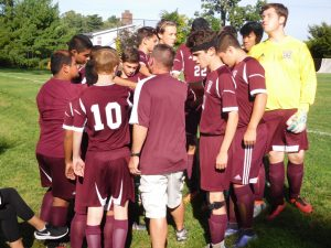 Boys JV Soccer vs Seton Hall