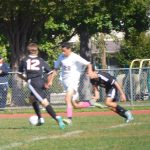 Nutley High School Boys Junior Varsity Soccer beat West Essex 2-1