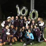 Nutley High School Girls Varsity Soccer beat Bergenfield High School 6-0