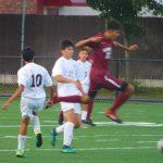 Boys jv soccer vs Bloomfield