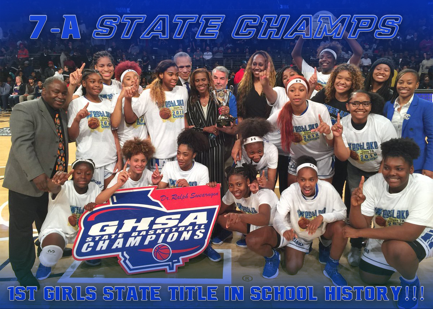 We Are The Champions!!! The Lady Lions Are The 2017-18 7-A State Champs!