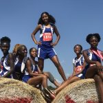 The ladies of Westlake High School Track