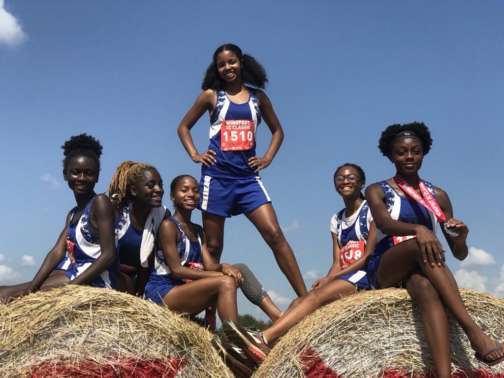 The ladies of Westlake High School Track