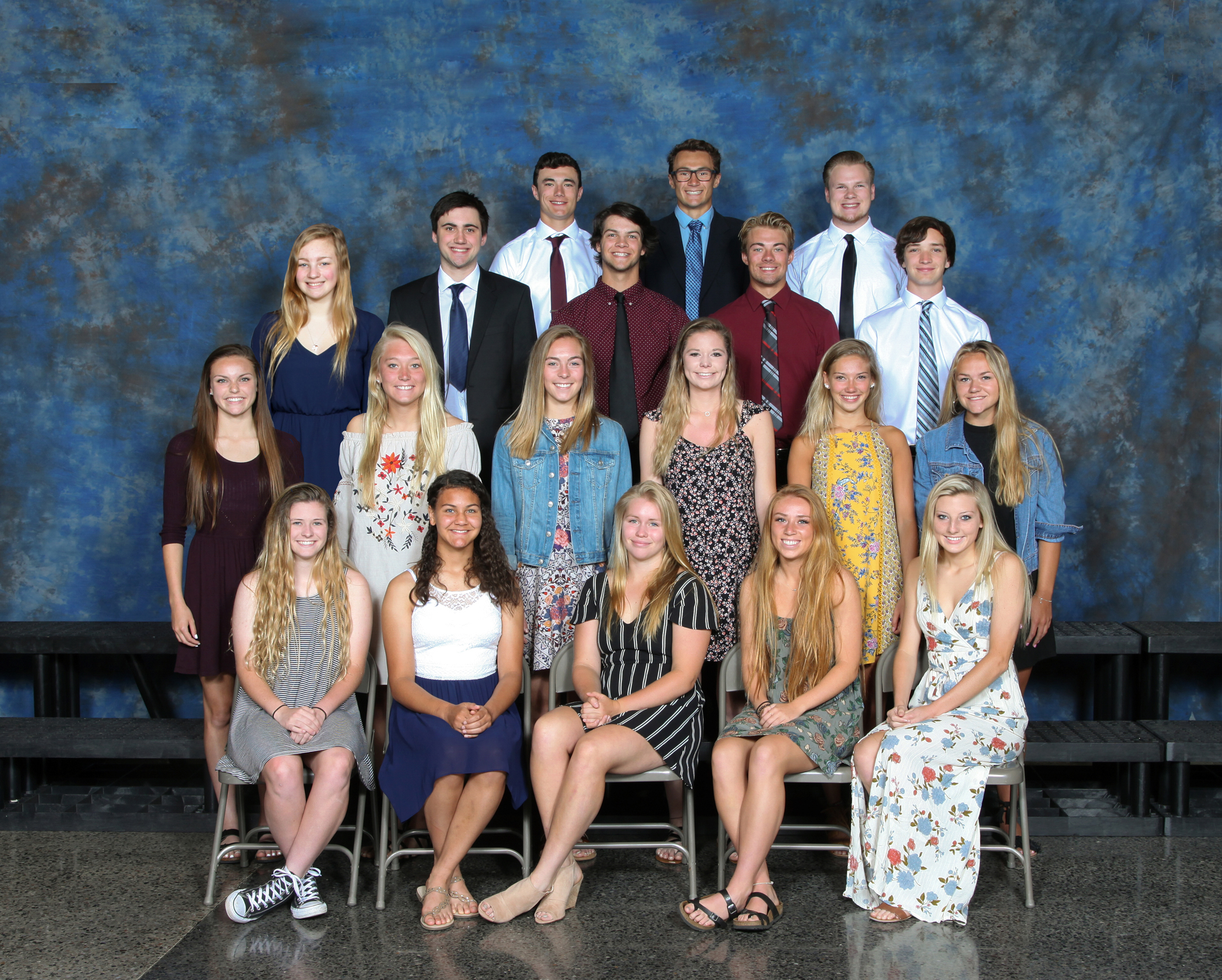 2018 Spring Sports All Conference and Honorable Mention Athletes
